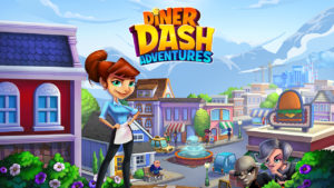 Diner Dash Adventures APK Mod Hack For Coins and Gems