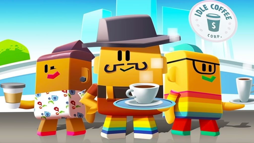Idle Coffee Corp APK Mod Hack For Gold and Cash