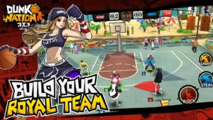 Dunk Nation 3X3 Hack APK Mod For Gems and Gold