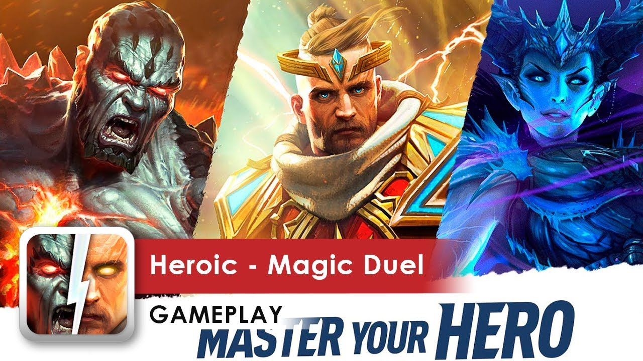 Heroic Magic Duel APK Mod Hack For Gems Tech Info APK