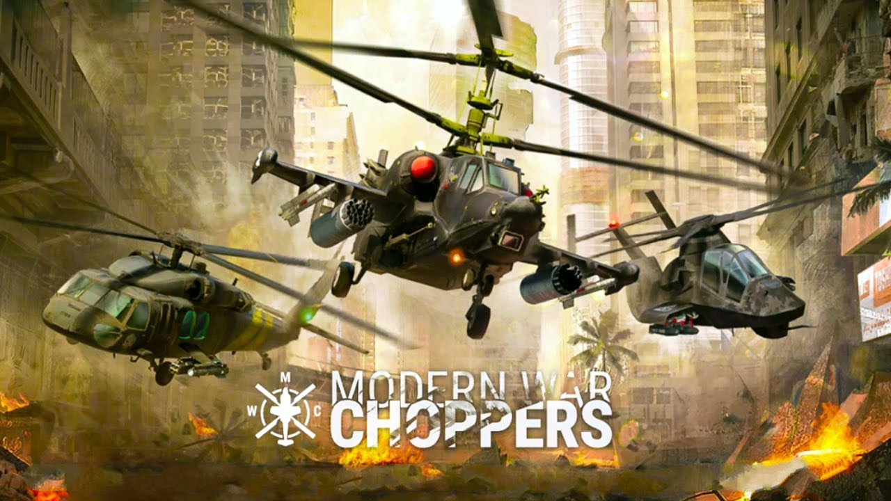 Modern War Choppers APK Mod Hack For Gold and Silver - Tech