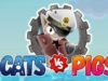 Cats vs Pigs Battle Arena APK Mod Hack For Coins and Rubies
