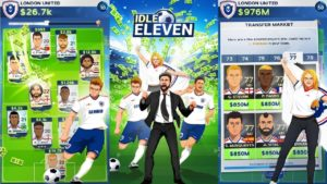 Idle Eleven Soccer Tycoon Hack Mod For Cash