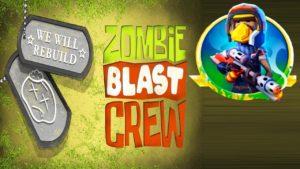 Zombie Blast Crew Hack mod For Gems