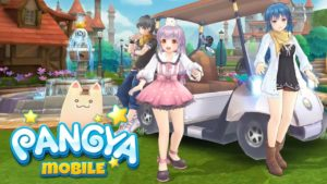 LINE PANGYA MOBILE Hack mod apk For Coins and Gems