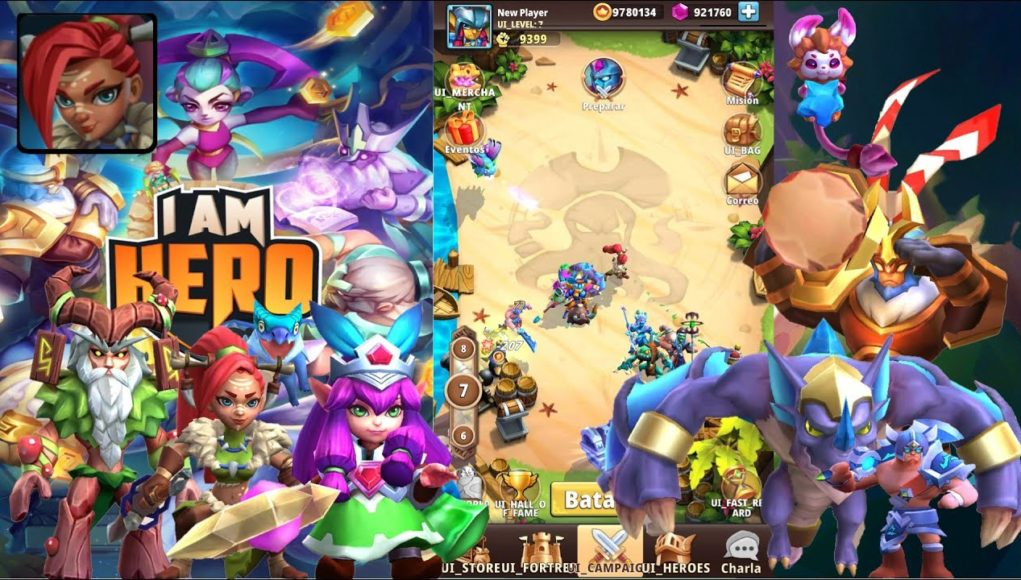 I Am Hero AFK Teamfight Hack Gems and Gold (Mod APK)