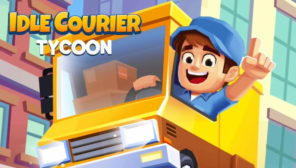 Idle Courier Tycoon Hack Mod apk For Gems