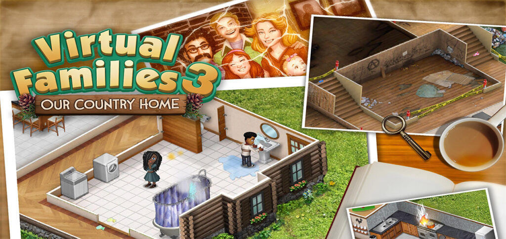 Virtual Families 3 Hack Coins android iOS glitch