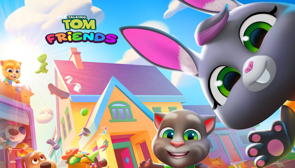 My Talking Tom Friends Hack Mod Coins and Bus Tokens