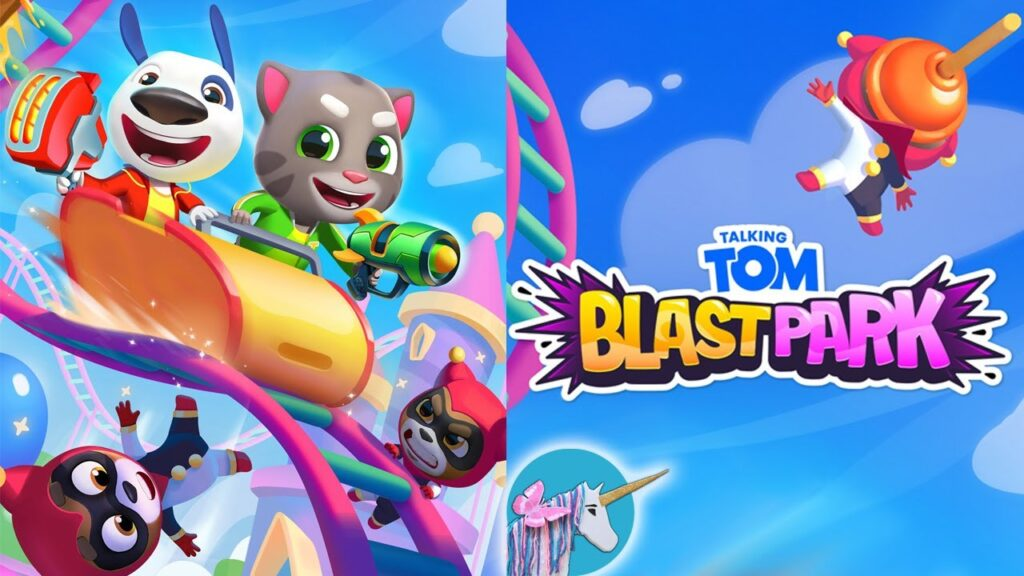 [NEW]Talking Tom Blast Park Hack APK Coins and Tickets