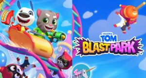 Talking Tom Blast Park Hack APK Coins and Tickets