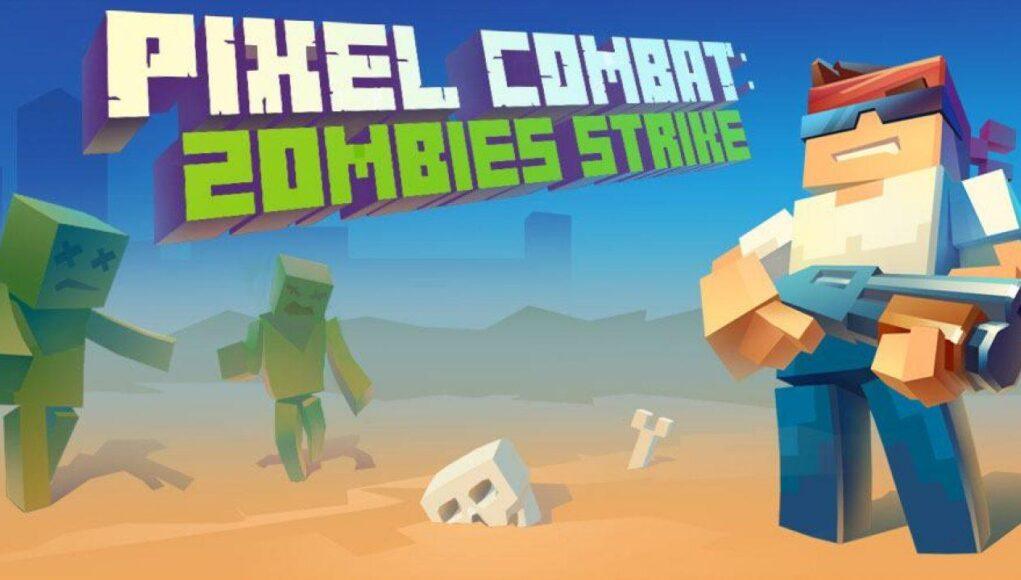 Pixel Combat Zombies Strike Hack APK Money and Ammo