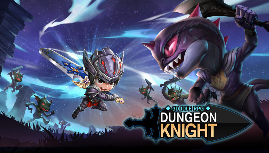 Dungeon Knight 3D Idle RPG Hack (apk Gems/ Gold)