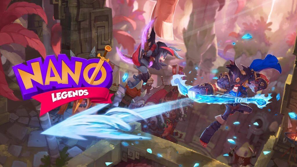 Nano Legends Hack (Mod Ether-Gold)